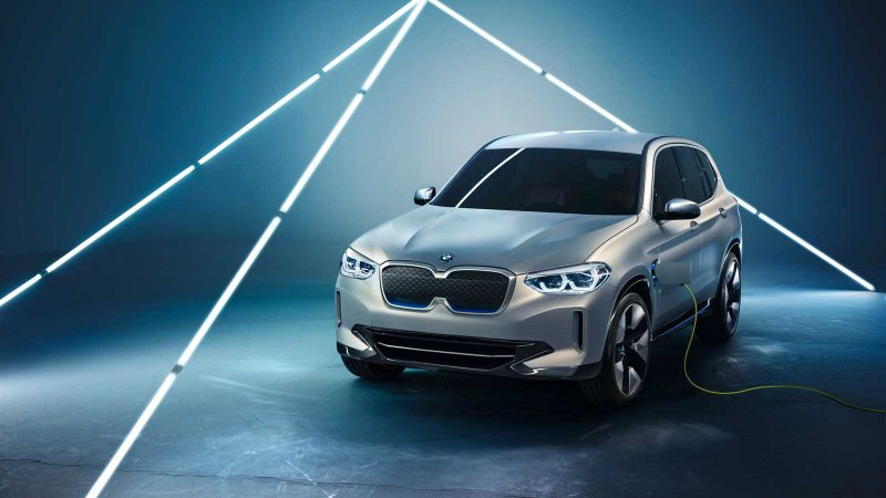 The BMW iX3. Source: BMW
