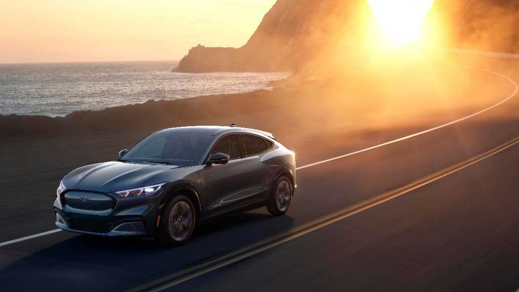 Ford Electric Car >> Fast And Fun Ford Debuts First Electric Vehicle Mustang