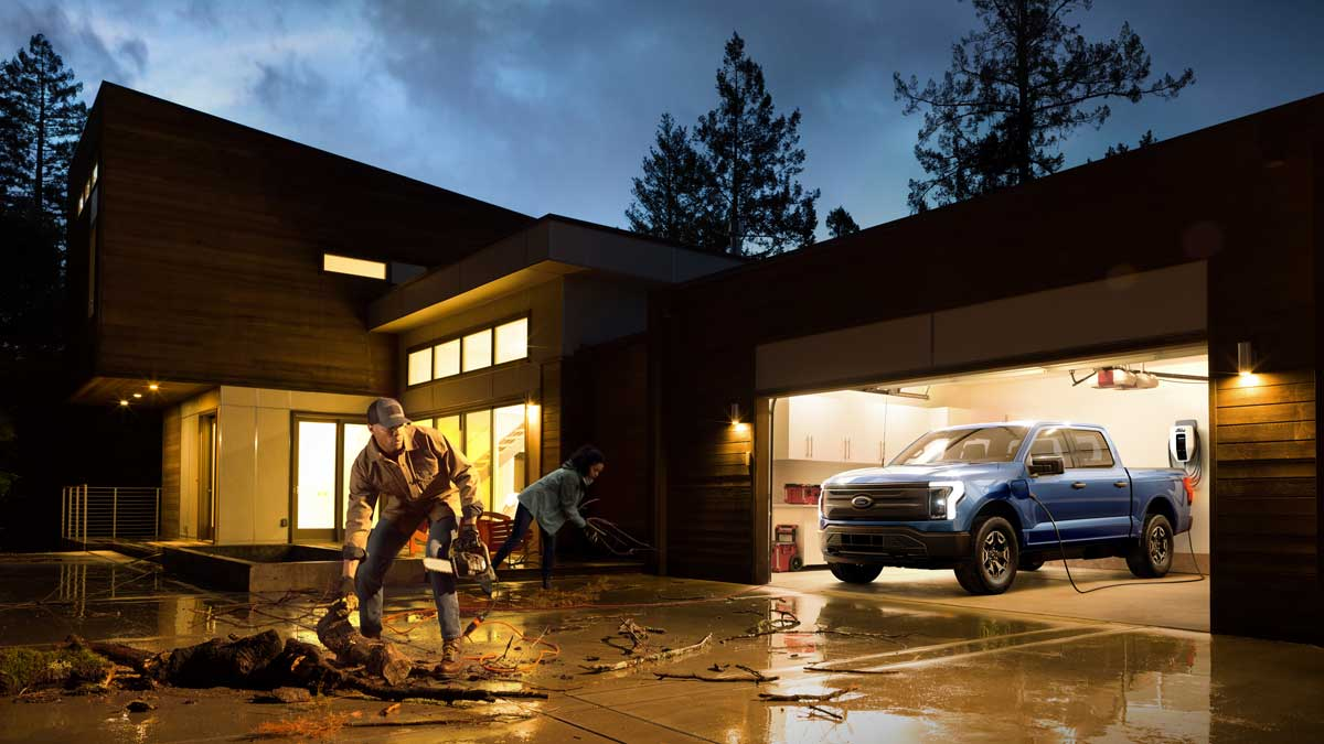 Ford F-150 Lightning Pro. Source: Ford